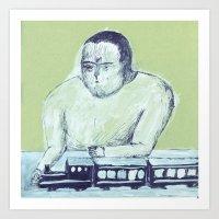train keeper Art Print