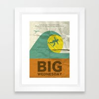 Big Wednesday Framed Art Print