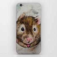 Hamster Love iPhone & iPod Skin