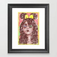 Just sketch it! Framed Art Print