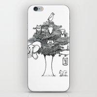 Animal Tree iPhone & iPod Skin