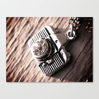 Canvas Print featuring frame and focus by fidens