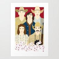 The Country Of Living Da… Art Print