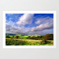 Kent Countryside Art Print
