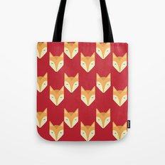 Mr. Fox Pattern Tote Bag