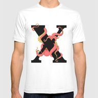 X. Mens Fitted Tee White SMALL