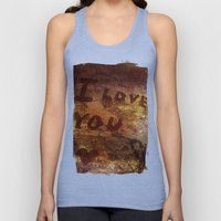 I ♥ You more Unisex Tank Top