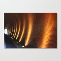 Tunnel Lights Canvas Print