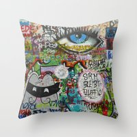 If They Don't Let Us Dream Throw Pillow