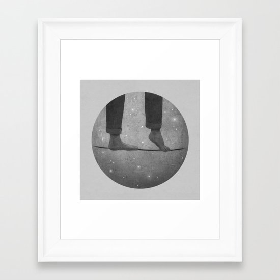 Rooftoppers - Chapter 17, continued Framed Art Print