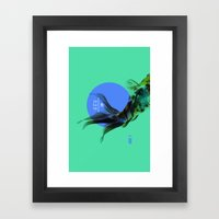 SAKANA Framed Art Print