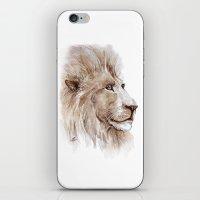 Wise lion iPhone & iPod Skin
