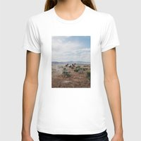 horses T-shirts featuring Running Horses by Kevin Russ