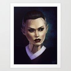 Mass Effect: Jack Art Print