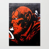 Hell Boy Canvas Print