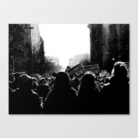 March For Life Canvas Print