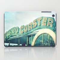 turbo coaster iPad Case