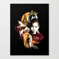 Monk Canvas Print