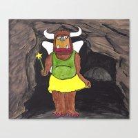 Cave Fairy Canvas Print