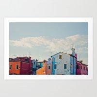 Burano Island VII Art Print