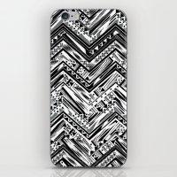 BW ETHNIC CHEVRON iPhone & iPod Skin