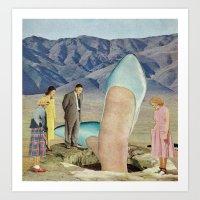 Thigh-Curious Art Print