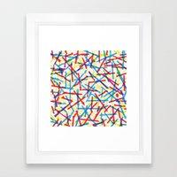 Chill Sugar Framed Art Print