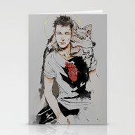 Saint Wolf Stationery Cards