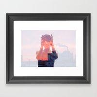 Insideout 8. Mind Pollut… Framed Art Print