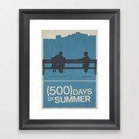 500 Days Of Summer Movie… Framed Art Print