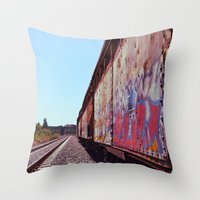 In the Nalley Valley Throw Pillow