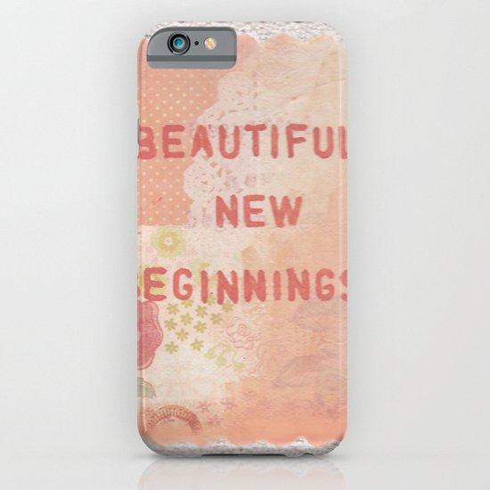 Beautiful new beginnings iPhone & iPod Case