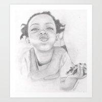 Nuffin  Art Print