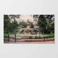 How It Is Done In The So… Canvas Print