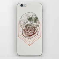Skull Rose Geo iPhone & iPod Skin