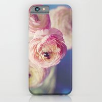 Ranunculus In Blue iPhone 6 Slim Case