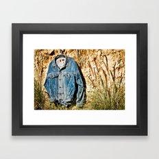 organic slavery Framed Art Print