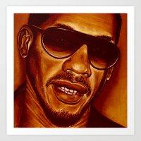 joey starr! Art Print