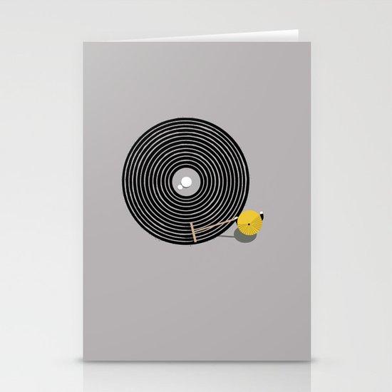 Zen vinyl Stationery Card