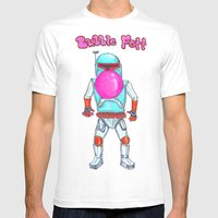 Bubble Fett Mens Fitted Tee White SMALL