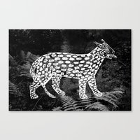 Forest Panther Canvas Print