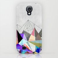 Galaxy S4 Cases featuring Colorflash 3 by Mareike Böhmer Graphics