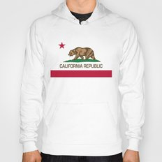 California Republic state flag - Authentic Version Hoody