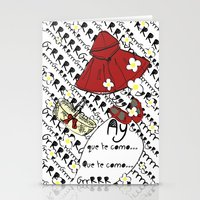 Little Red Riding Hood by Piarei Stationery Cards