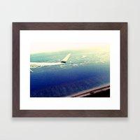Leaving Paradise  Framed Art Print