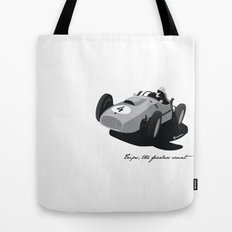 Fearless Count Black & White Tote Bag