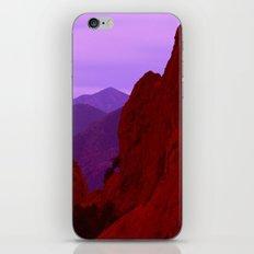 Ragged Uplifts iPhone & iPod Skin