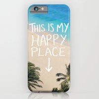 iPhone & iPod Case featuring Happy Place by Leah Flores
