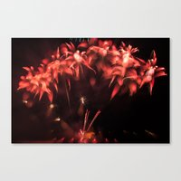 Fireworks - Philippines 3 Canvas Print
