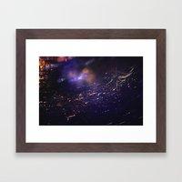 SparkleWeb Framed Art Print